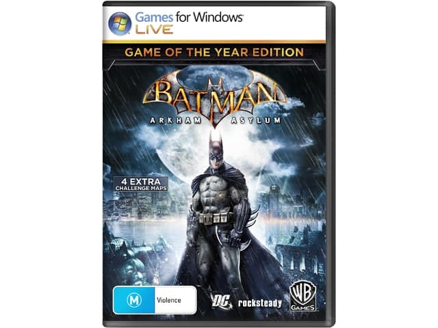 PCDD Games: Batman: Arkham Asylum/City GOTY $4, Mortal Kombat Arcade Kollection  $2 & More