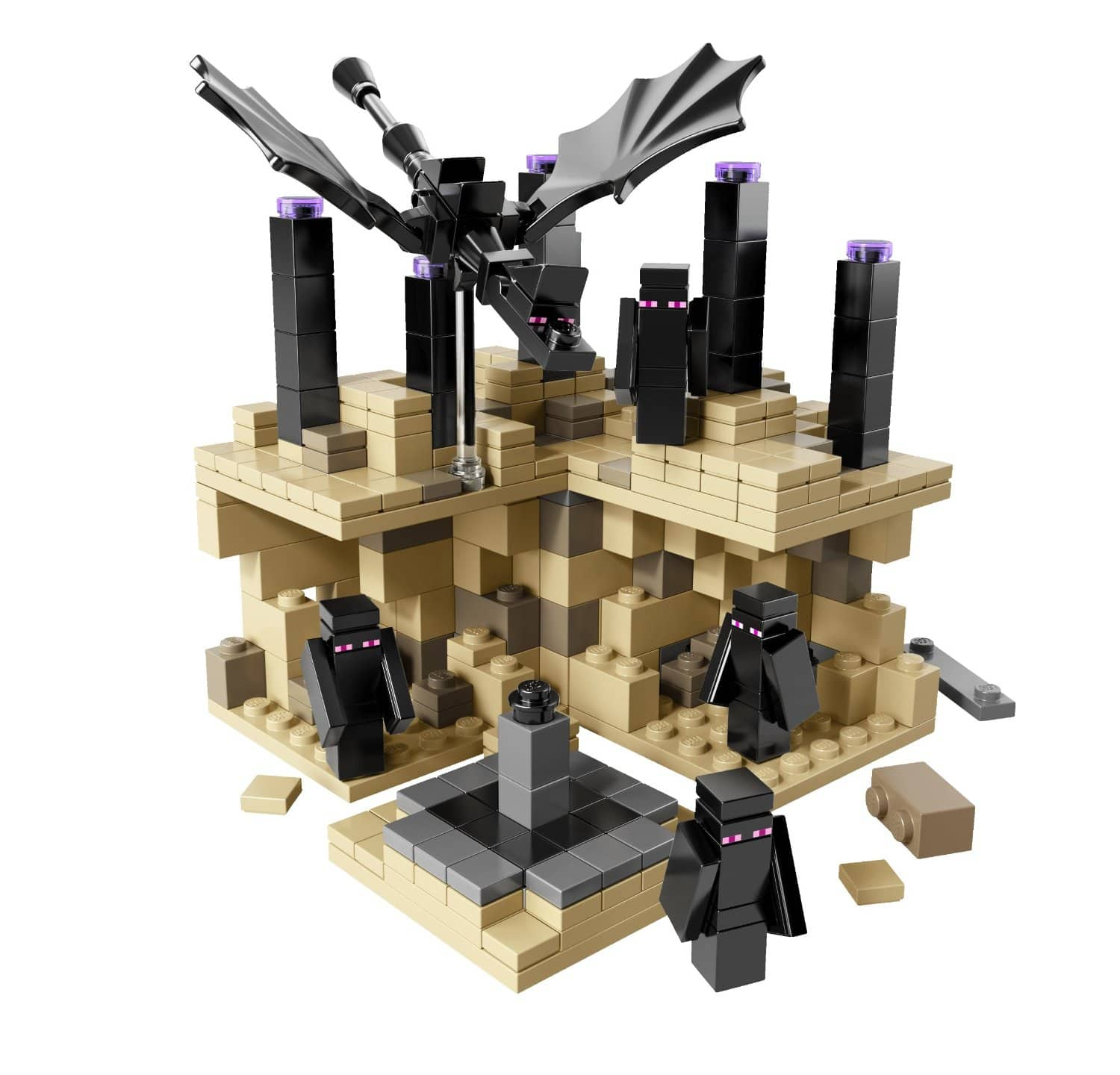 LEGO Minecraft Micro World - The End - $24.99