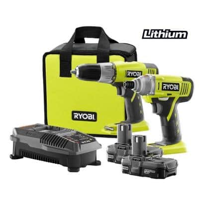 $99 Ryobi 18v COMBO IMPACT Driver and DRILL Driver ARE BACK!!! with TOOL BAG
