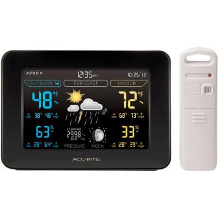 AcuRite Forecaster Digital Weather Station - COLOR - 24.47 @ WalMart
