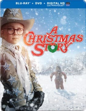 A Christmas Story: 30th Anniversary (Blu-ray+DVD+UltraViolet) in Steelbook Packaging  $7.50 + Free Shipping