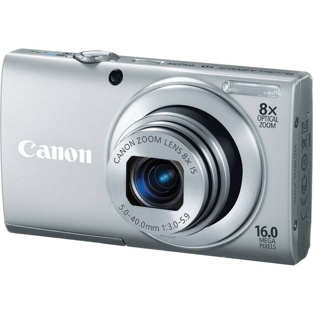 Canon Refurbished PowerShot Digital Cameras: ELPH 115 IS $50, ELPH 130 IS $60, A4000 IS  $40 & More + Free Shipping