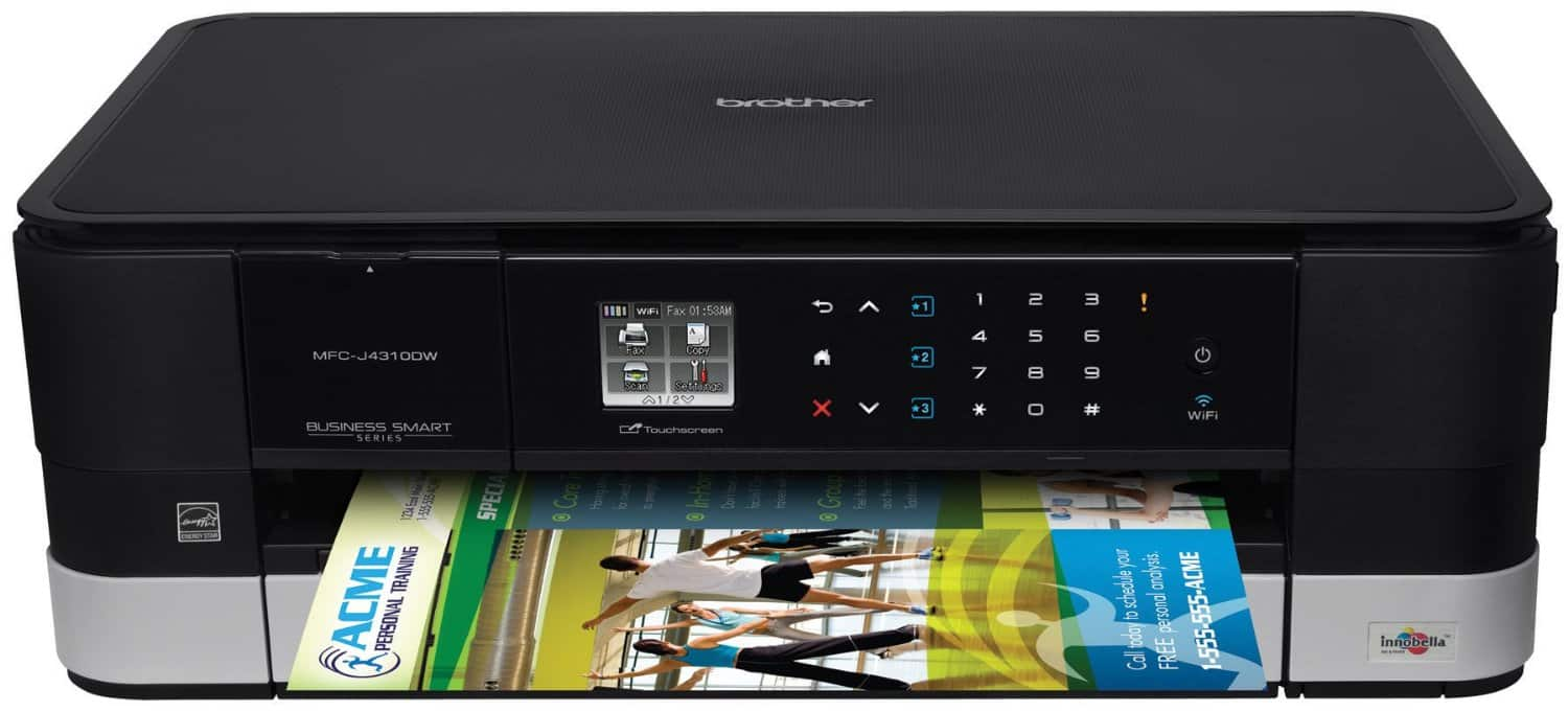 Brother Business Smart Series All-in-One Inkjet Printer $59.99 @ B&H Photo Free Shipping