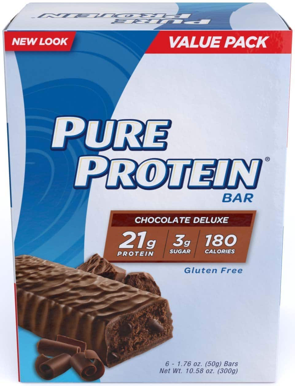 Amazon Pure Protein Chocolate Deluxe 1.76 oz Bars,12 Count $8.15 or less Ships Free via Subscribe & Save