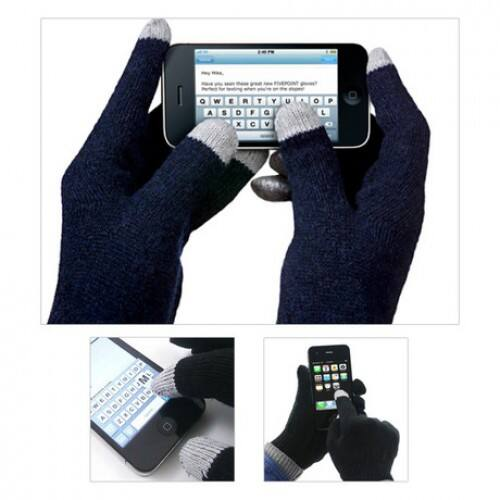 2-Pack of Unisex Conductive Touchscreen Gloves  $3 + Free Shipping