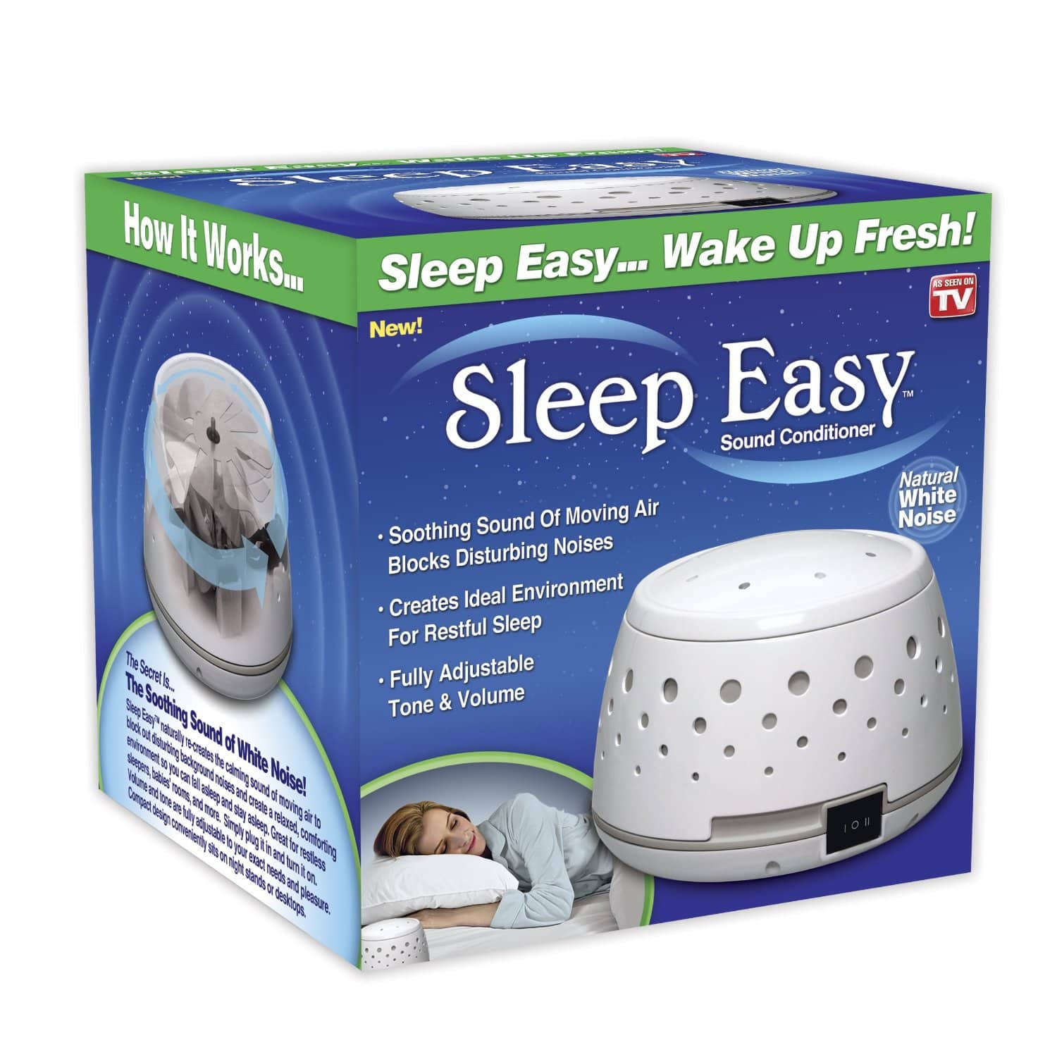Sleep Easy Sound Conditioner White Noise Machine  $15