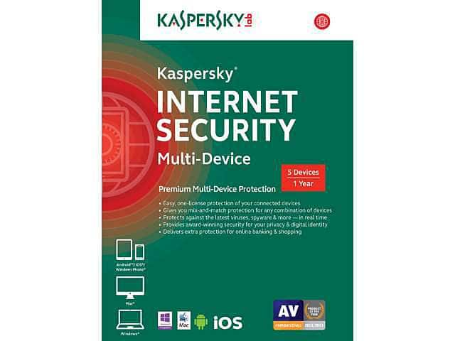 Kaspersky Internet Security 2015 Multi-Device (5 Devices) - Free After Rebate & Coupon + Free Shipping @ Newegg.com