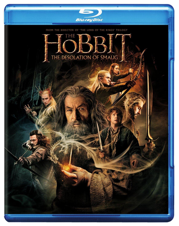 The Hobbit: The Desolation of Smaug (Blu-ray + DVD + Digital HD + UltraViolet)  $10