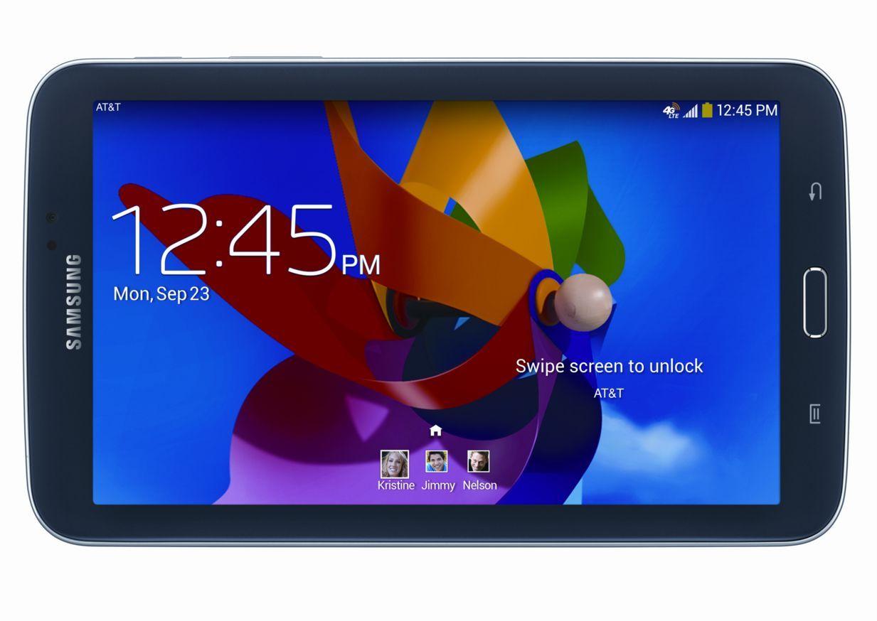 "16GB Samsung Galaxy Tab 3 4G LTE GSM Unlocked WiFi 7"" Tablet  $100 + Free Shipping"