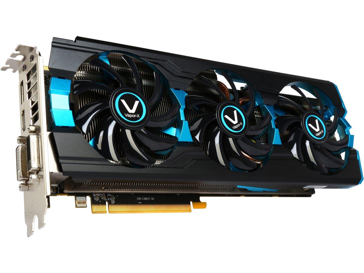 Sapphire Vapor-X Radeon R9 280X 3GB GDDR5 PCIE Video Card  $190 after $20 Rebate + Free Shipping