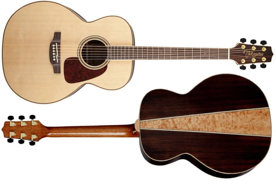Takamine Acoustic Guitar w/ Rosewood & Maple Back (NEX/Dreadnought)  $290 + Free Shipping