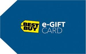 $150 Best Buy eGift Card + $15 Best Buy ePromo Card  $150