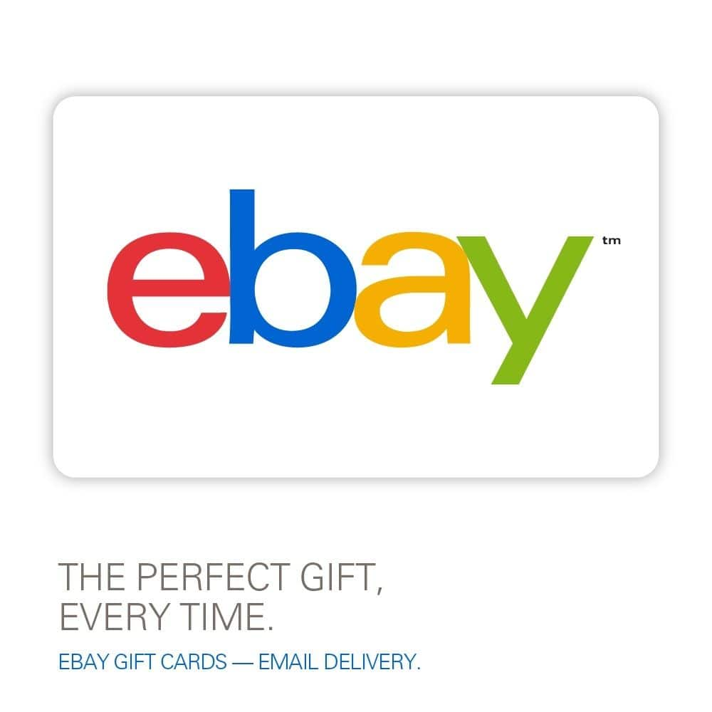 $50 eBay Gift Card (email delivery)  $35