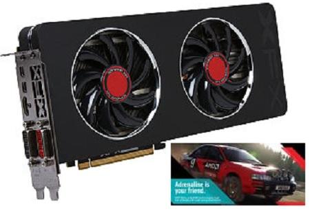XFX Black Edition Double Dissipation Radeon R9 280 3 GB 384-Bit GDDR5 PCI Express 3.0 Video Card (R9-280A-TDBD) + Dirt Rally (PC Game) for $149.99 AR + Free Shipping @ Newegg.com