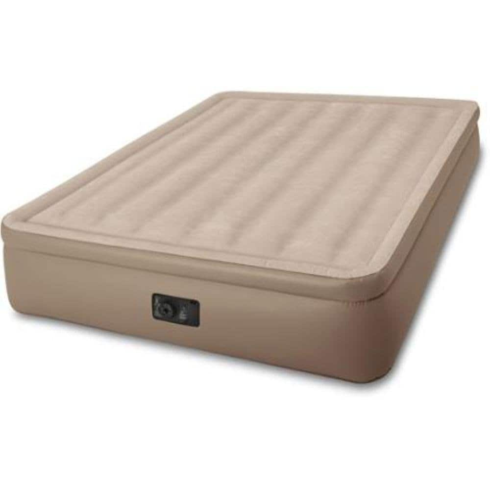 Intex Queen Elevated Airbed with Built-In Electric Pump  $27 + Free Site-to-Store Shipping