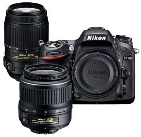 Nikon Refurbished D7100 DSLR with 55-300 VR and 18-55mm VR Nikkor Lens (Refurbished) $700 + Free Shipping (eBay Daily Deal)