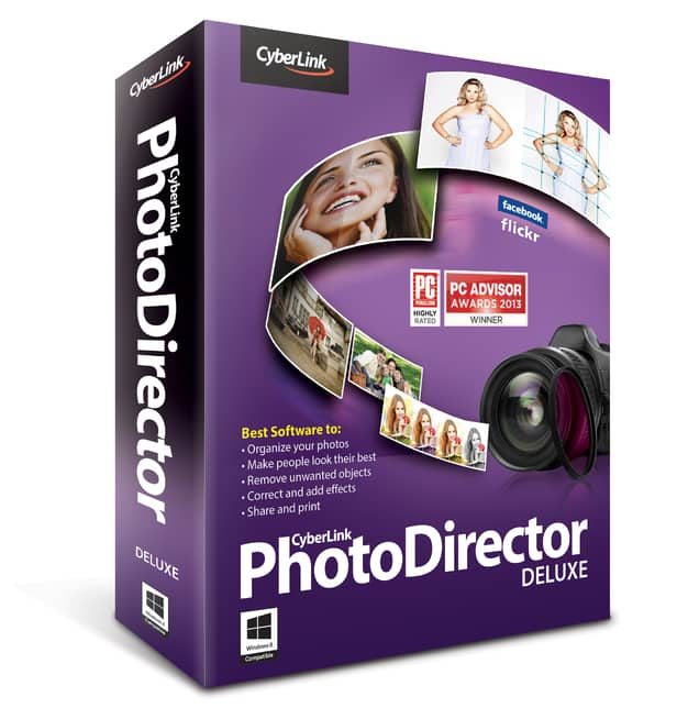 PhotoDirector 5 Deluxe Photo Editing Software (Digital Download)  Free