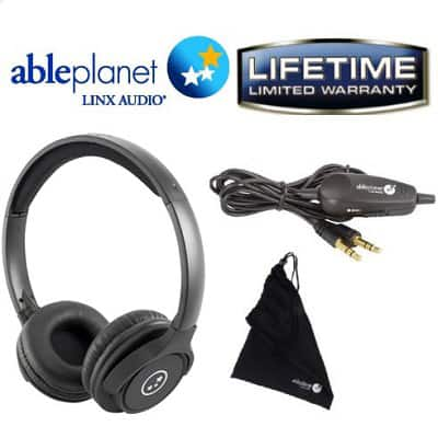 Able Planet SH190 Travelers Choice Stereo Headphones w/ LINX Audio  Free after $15 Rebate + Free S&H