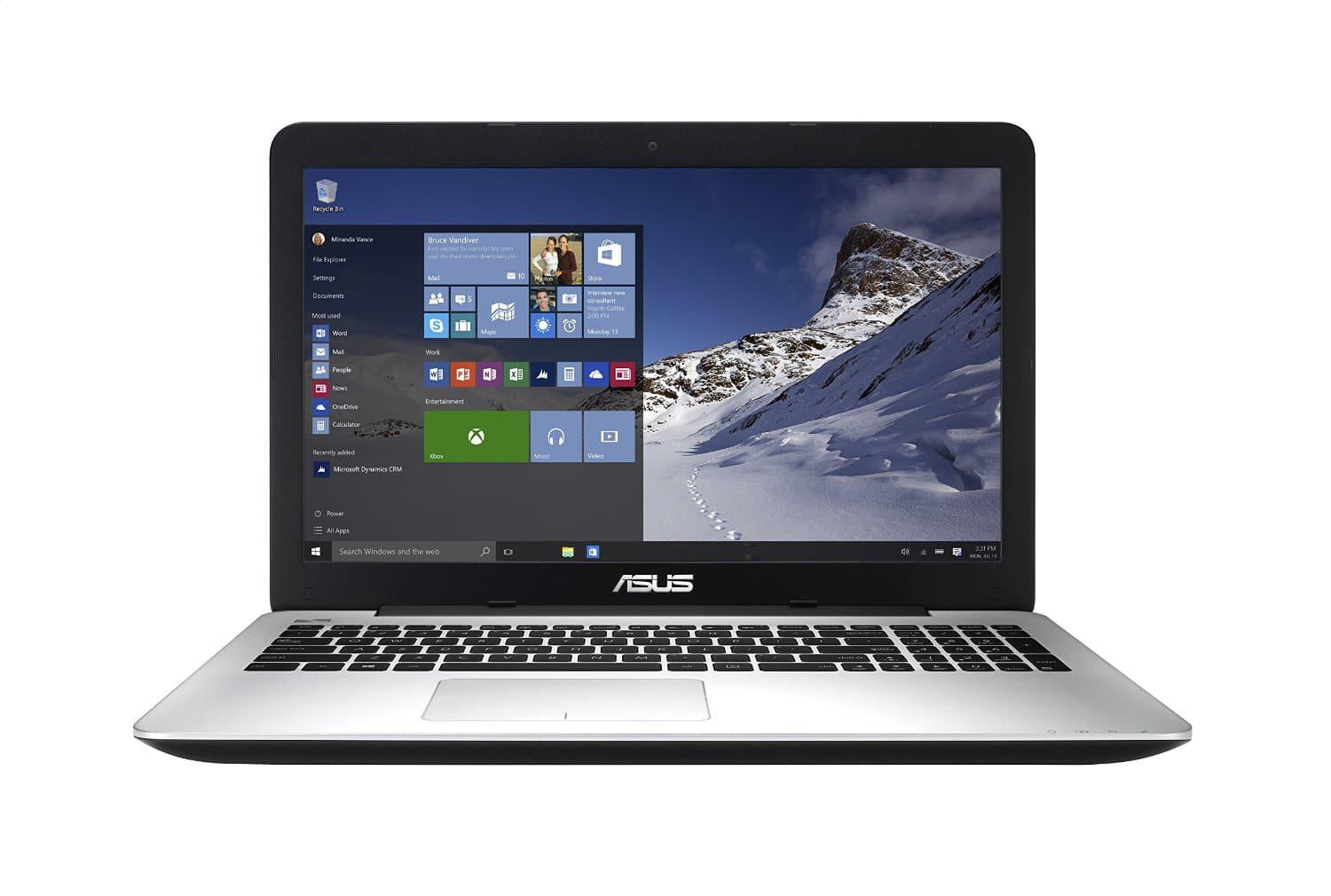 "ASUS F555LA-AB31 15.6"" Windows 10 Laptop (Pre-order): Core i3-5010U, 1920x1080, 4GB DDR3, 500GB HDD  $349 + Free Shipping"