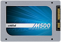 """Refurbished Crucial M500 2.5"""" Solid State Drive SSD Sale: 960GB $180, 480GB  $100 + Free Shipping"""