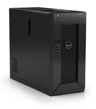 Dell PowerEdge T20 Tower Server: Xeon E3-1225 v3 Quad Core CPU, 4GB DDR3, 1TB 7200RPM HDD, DVDRW $279 with free shipping