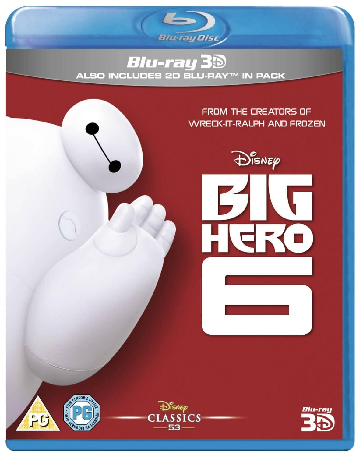 2x Disney 3D Blu-rays (Region Free): Big Hero 6, Tangled, Frozen, The Lion King and More  $35