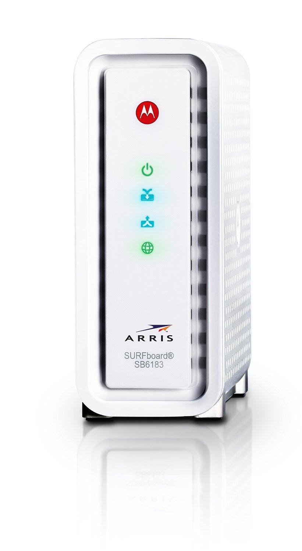 Motorola ARRIS SurfBoard SB6183 DOCSIS 3.0 Cable Modem  $100 + Free Shipping