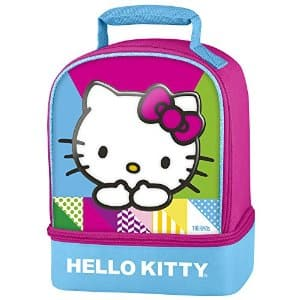Hello Kitty Thermos Dual-Compartment Lunch Kit $8.67 at Amazon