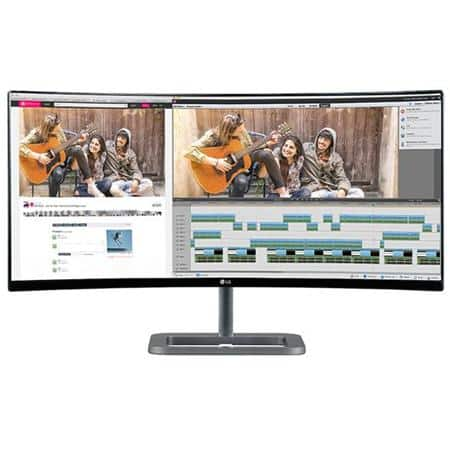 "34"" LG 34UC87C 3440x1440 QHD Curved IPS Monitor  $695 + Free Shipping"
