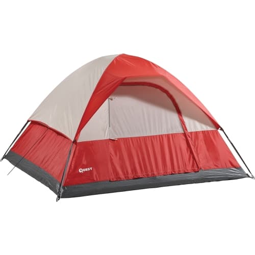 Quest Eagle's Peak 4-Person Tent (red)  $15 + Free Shipping