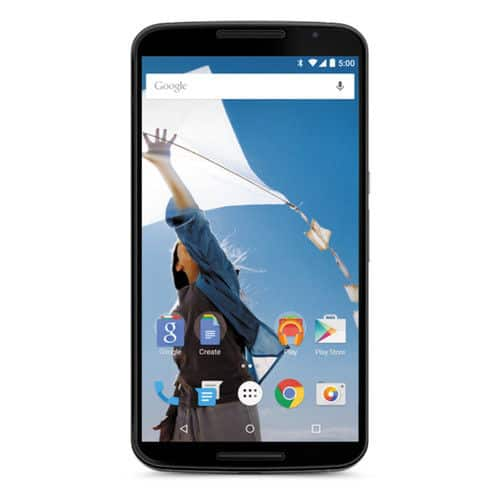 NEW Unlocked Motorola Nexus 6 32GB Smartphone - Blue (XT1103)- $290