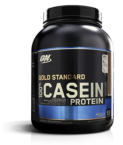 Optimum Nutrition 100% Casein Protein, Chocolate Supreme 4 Pound $30 @ Amazon