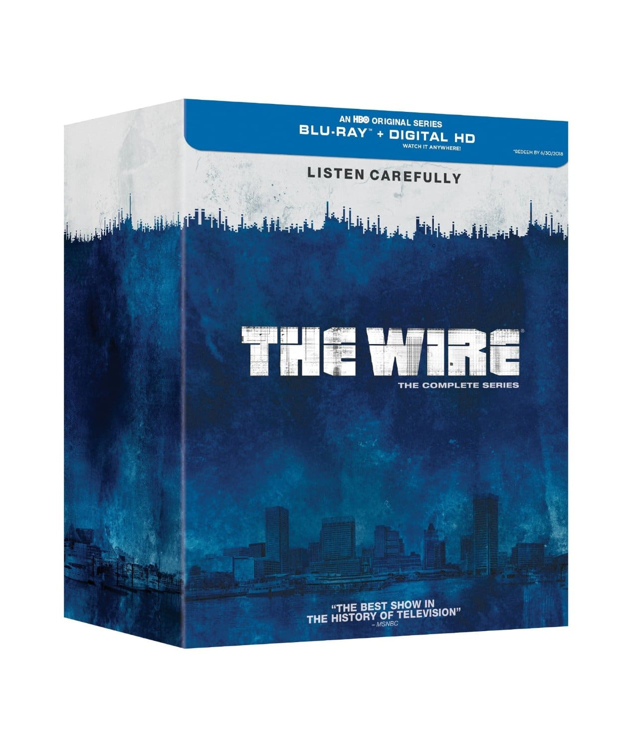 The Wire: The Complete Series (Blu-Ray/Digital HD) $59.99 + Free Shipping