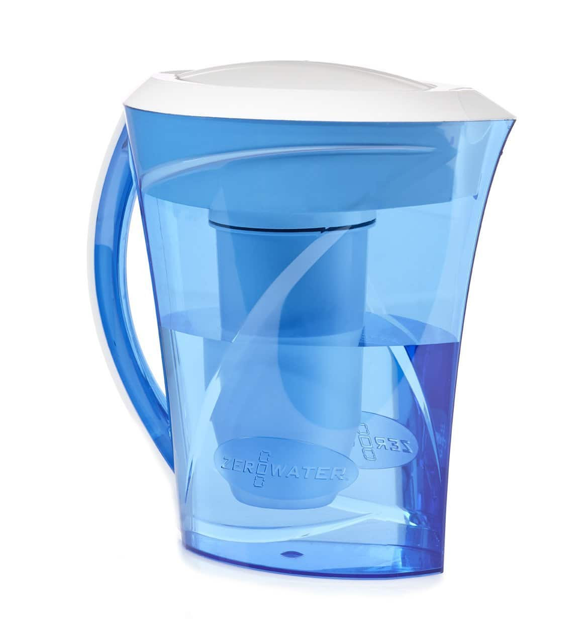 ZeroWater 8-Cup Filtration Pitcher $11 + Free Store Pickup Walmart.com