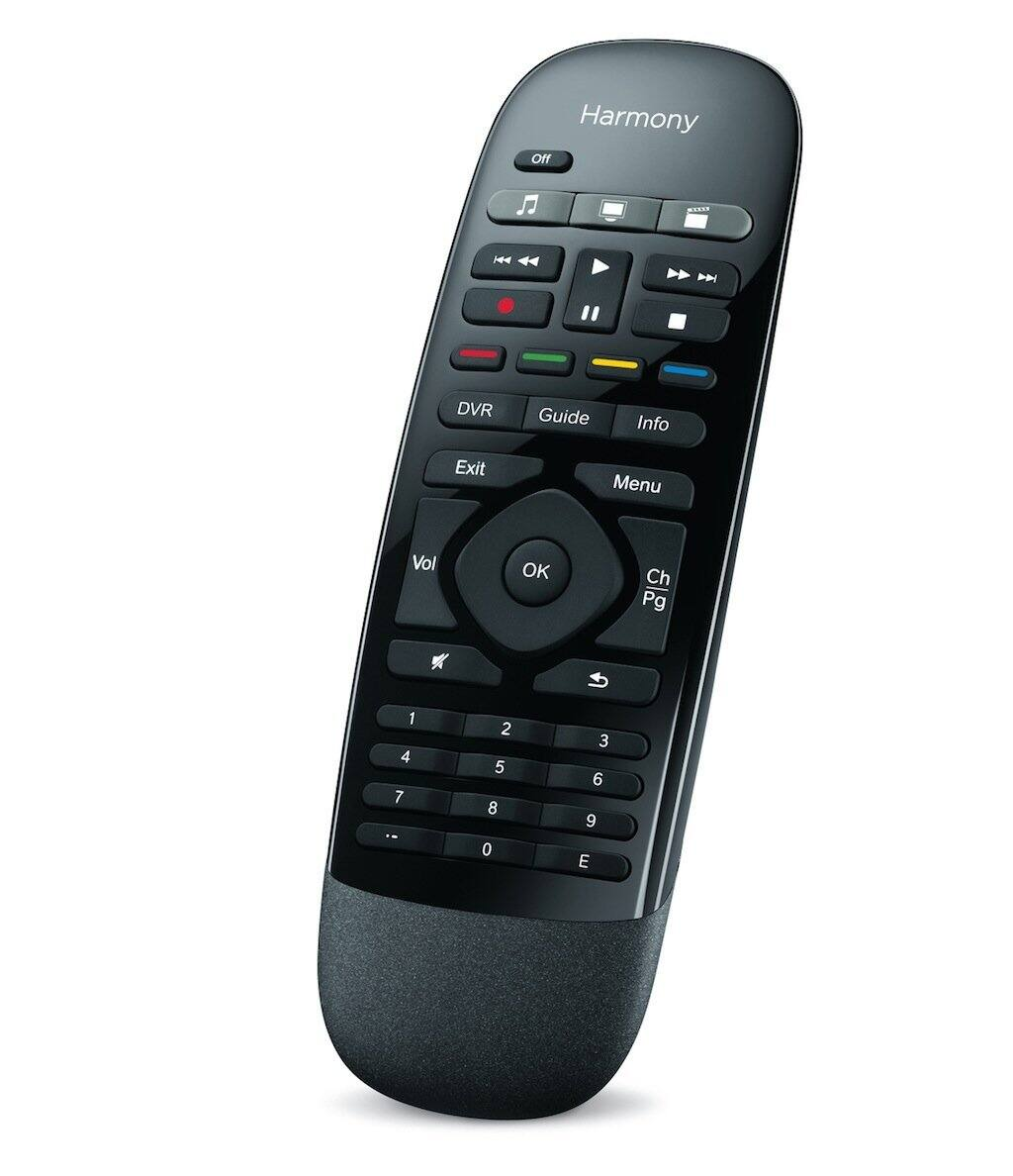 Logitech Harmony Smart Control w/ Smartphone App & Simple Remote (Black) $74.99 + Free Shipping
