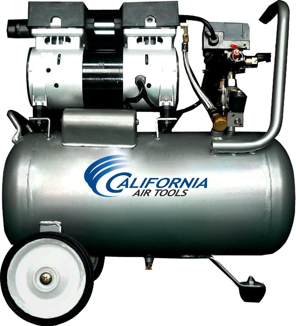 California Air Tools Ultra Quiet Oil-Free 1.0 Hp 6.3-Gallon Steel Tank Air Compressor  $159 + Free Shipping