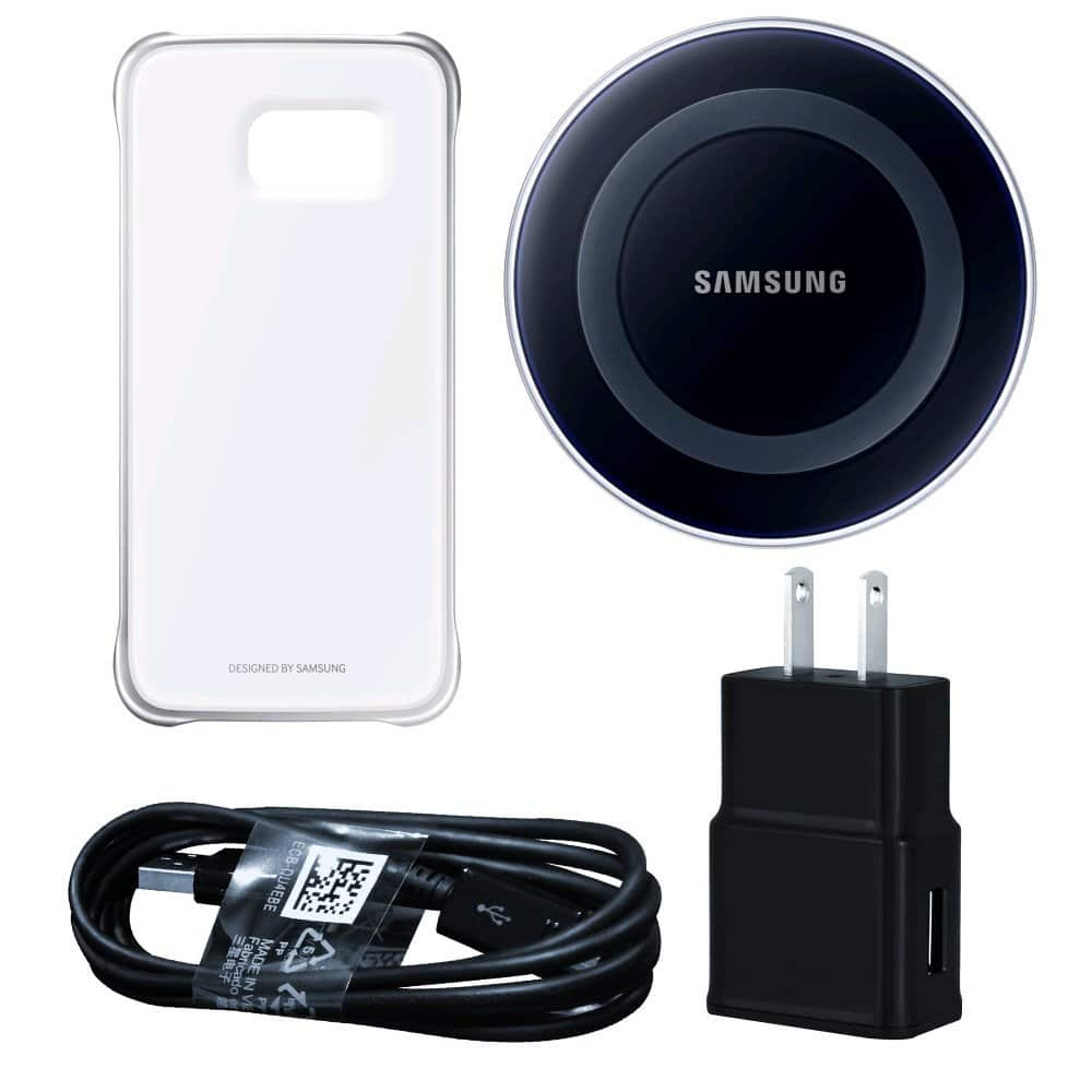 Galaxy Essentials Bundle for S6 or S6 Edge (Qi-Certified) $22 AC + FSSS! *Price Drop*