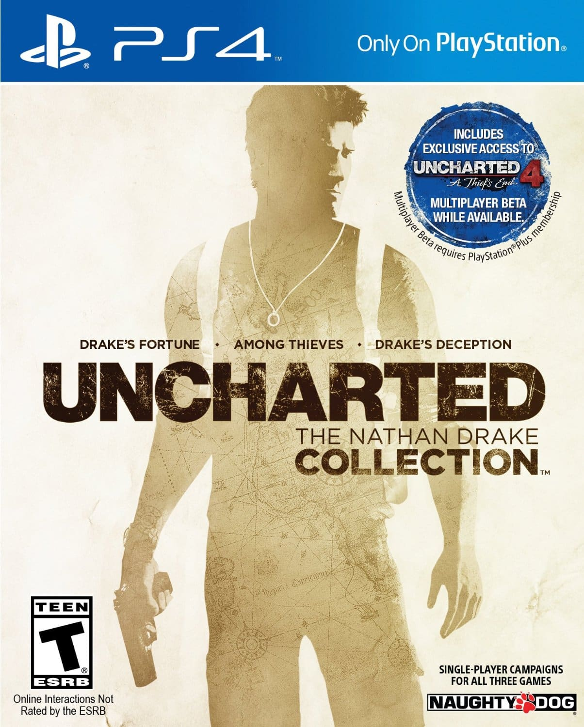 Uncharted: The Nathan Drake Collection (PS4) $27.99 + Free Shipping