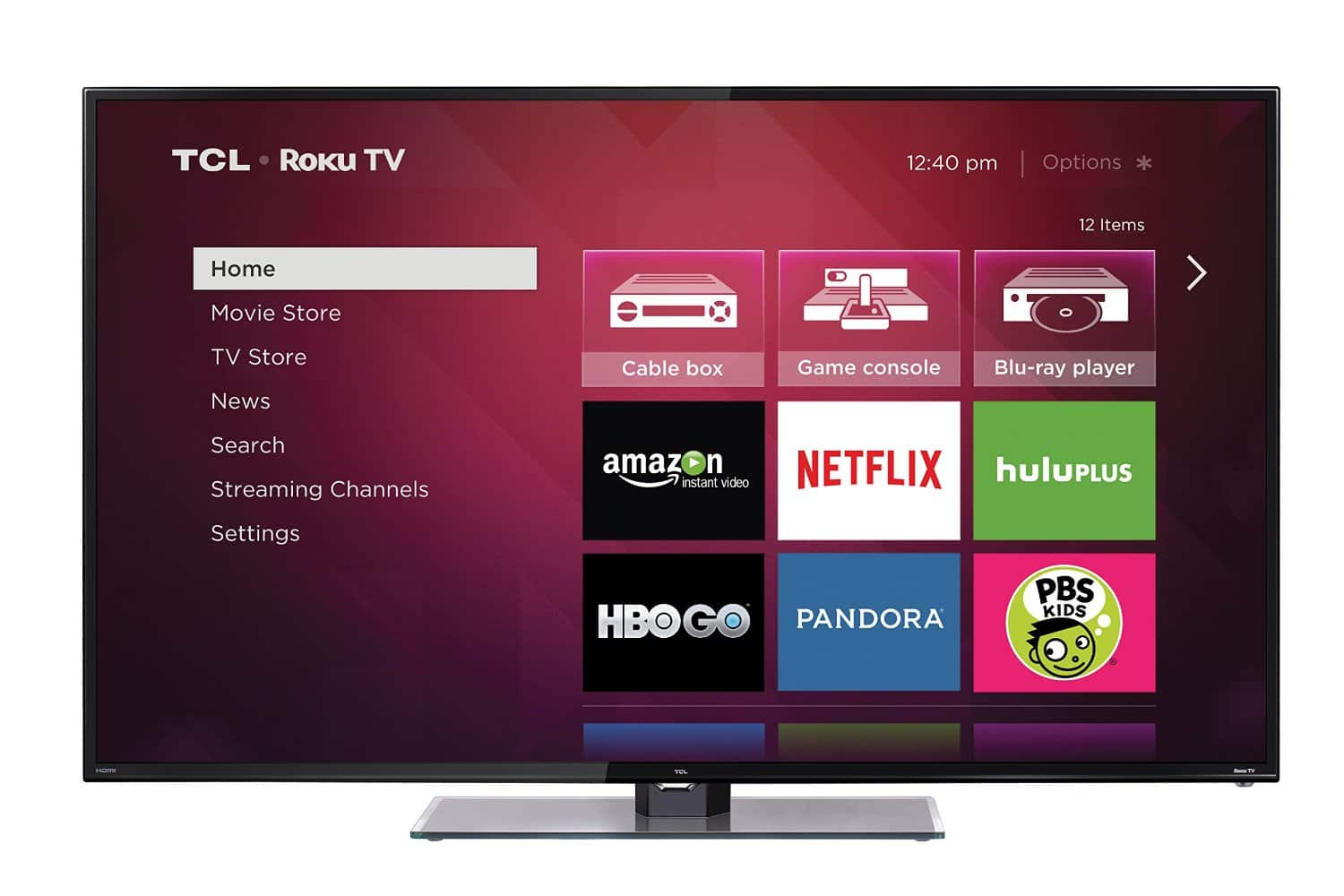 "55"" TCL 55FS3750 1080p 120Hz Roku Smart LED HDTV  $348 + Free Store Pick-Up"