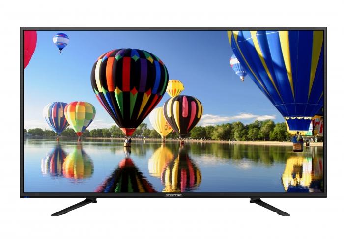 "43"" Sceptre U435CV-UMC 4K Ultra HD 2160p LED HDTV $259.99 + Free Shipping / Free Store Pickup @ Walmart"