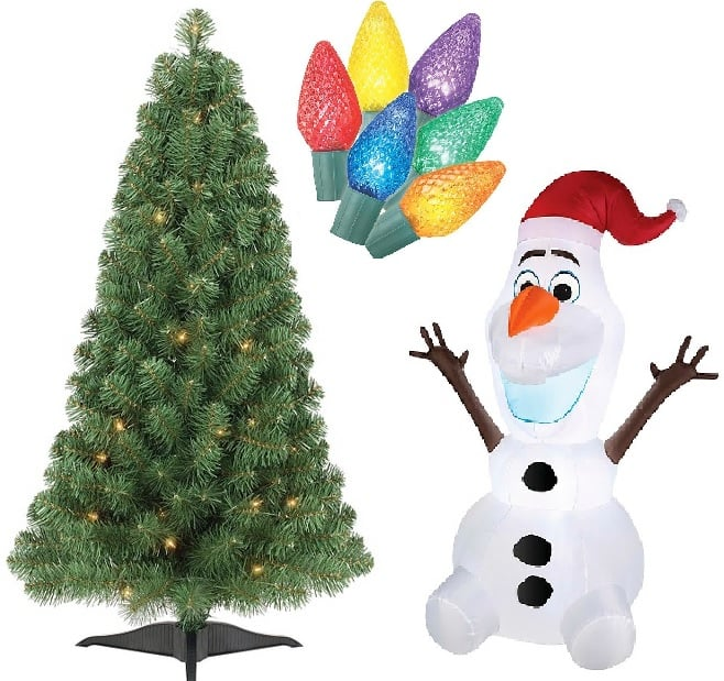 Target Coupons for Christmas Trees, Lights and Decorations  $55 off $100 + Free Shipping