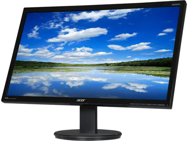 """23.8"""" Acer KN242HYL 1080p 4ms IPS LED Monitor w/ Built-In Speakers $99.99 + Free Shipping"""