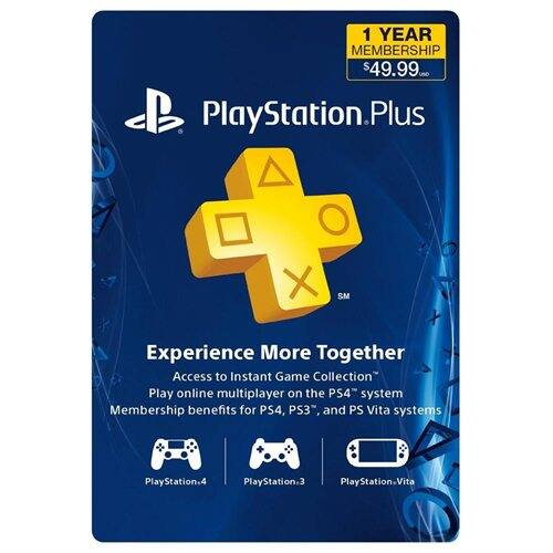 12-Month PlayStation Plus Membership Card $35 + Free Shipping w/ MasterPass Checkout
