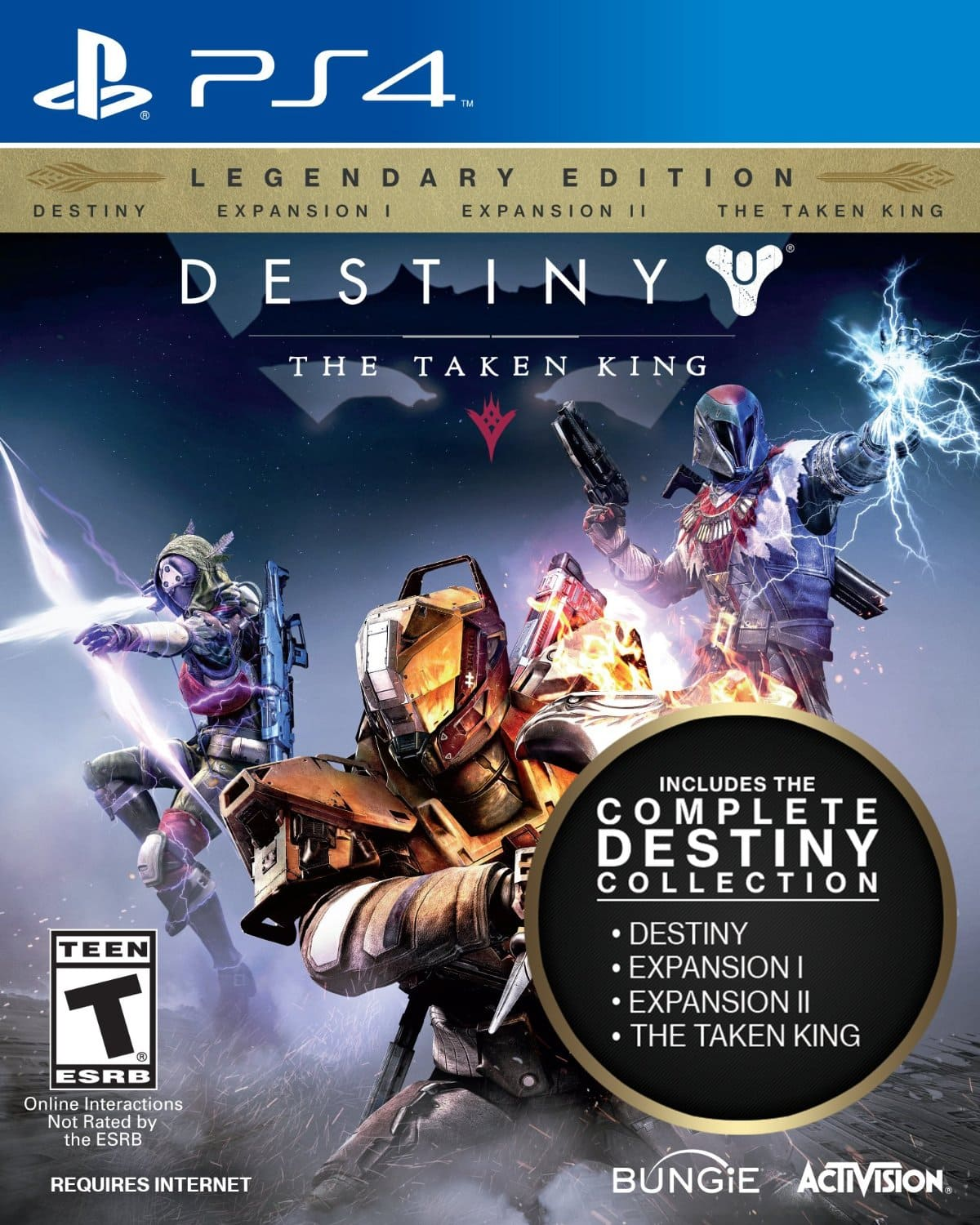 Destiny: The Taken King - Legendary Edition - Xbox One/PS4 - $29.99 with Amazon Prime