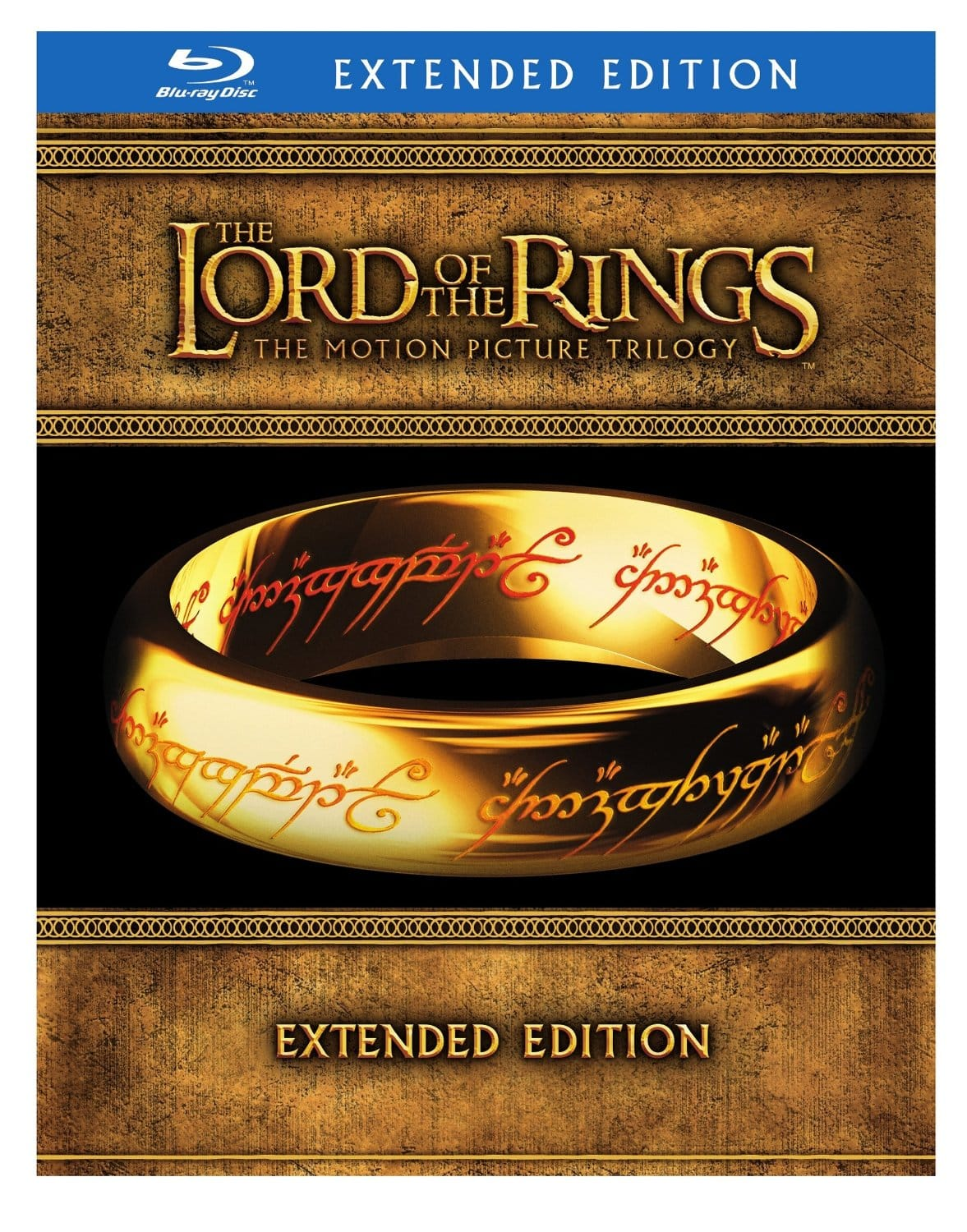 The Lord of the Rings: The Motion Picture Trilogy Extended Editions Blu-ray $28 @ amazon fs w/ prime