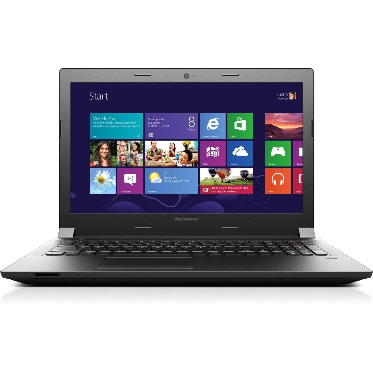 "Lenovo B40 Laptop: Intel Core i3-4005U, 14"" LED, 4GB DDR3, 500GB HDD, Win10  $260 + Free Shipping"