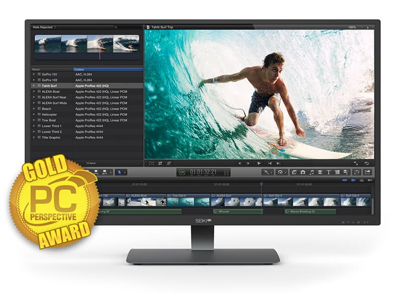 "Lowest Price - 40"" Seiki Pro SM40UNP 4K LED Monitor $448 + Free Shipping Newegg.com"