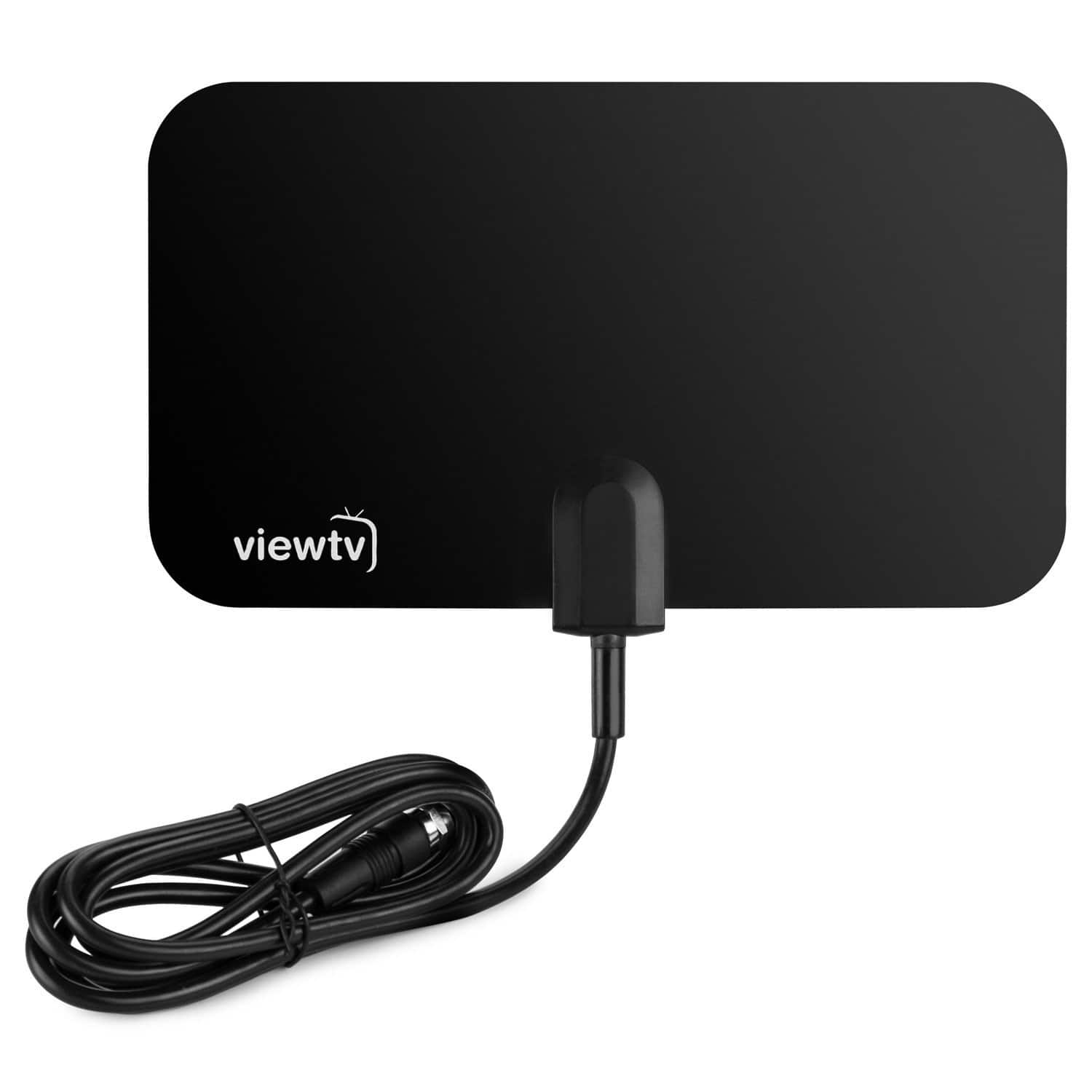 $4.99 - ViewTV Flat HD Digital Indoor TV Antenna - 25 Miles Range - Black