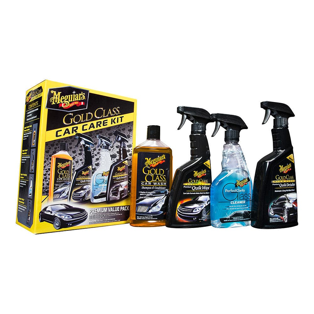 Meguiars Gold Class Car Care Detailing Kit (Washer, Wax, Glass Cleaner & Detailer) $6.99 + Free Store Pickup Sears.com