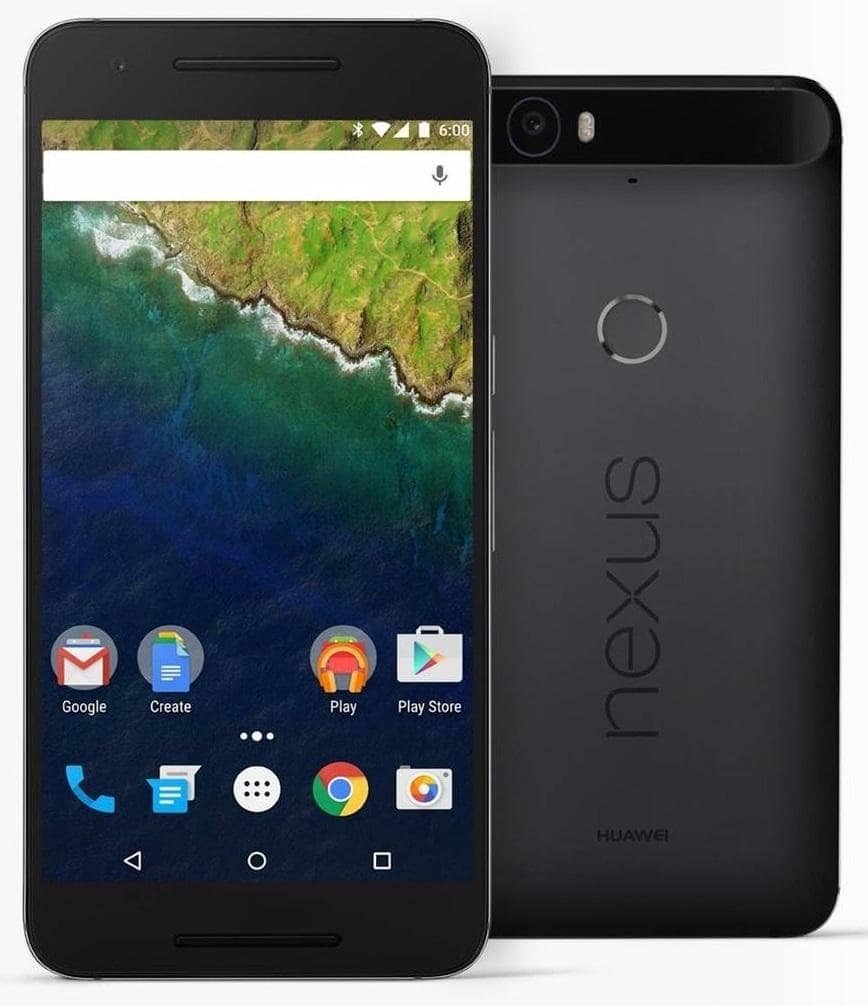 Nexus 6P $50 off and free overnight shipping from Google Play